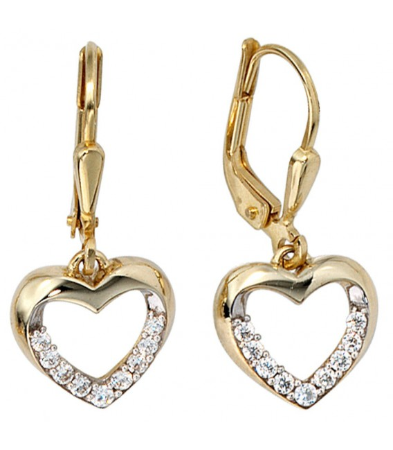 Boutons Herz 333 Gold - 4053258046760
