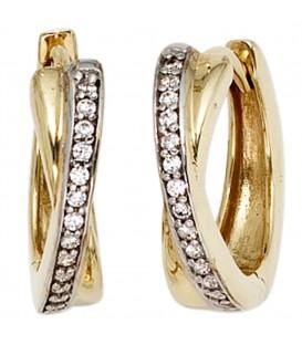 Creolen 333 Gold Gelbgold - 4053258203125