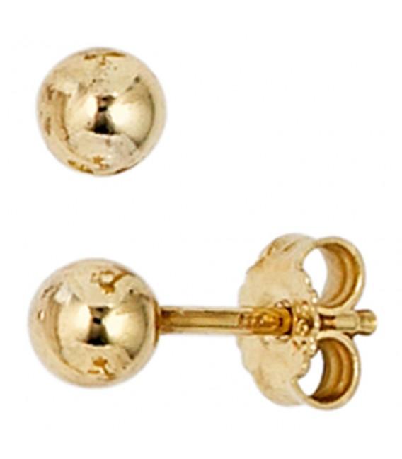 Ohrstecker Kugel 333 Gold - 4053258202715