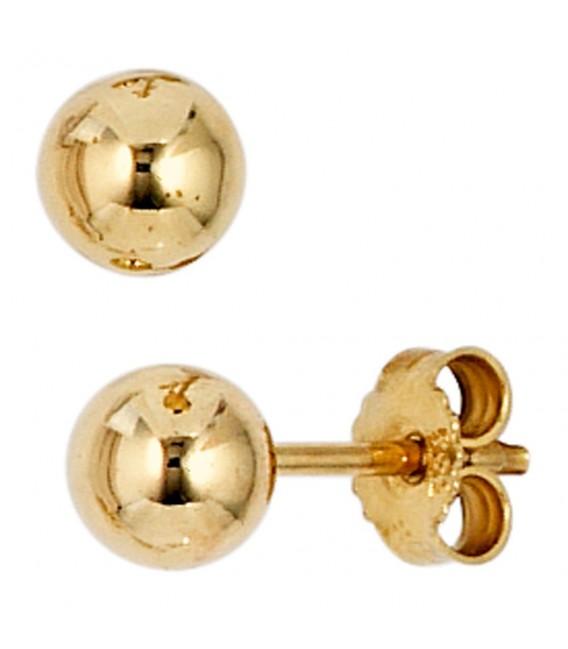 Ohrstecker Kugel 333 Gold - 4053258202722