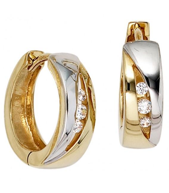 Creolen rund 333 Gold - 4053258203033