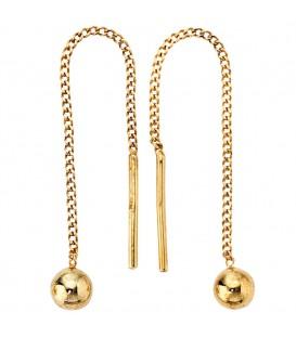 Durchzieh-Ohrhänger 333 Gold Gelbgold - 4053258046869