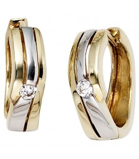 Creolen 333 Gold Gelbgold - 4053258203118