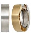Creolen rund 585 Gold - 14626