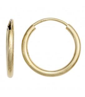 Creolen rund 585 Gold - 4053258247778