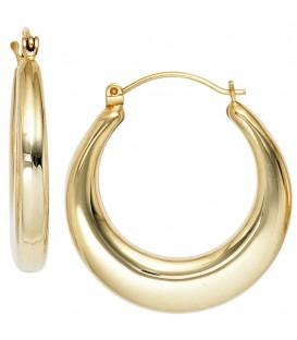 Creolen 585 Gold Gelbgold - 4053258044605
