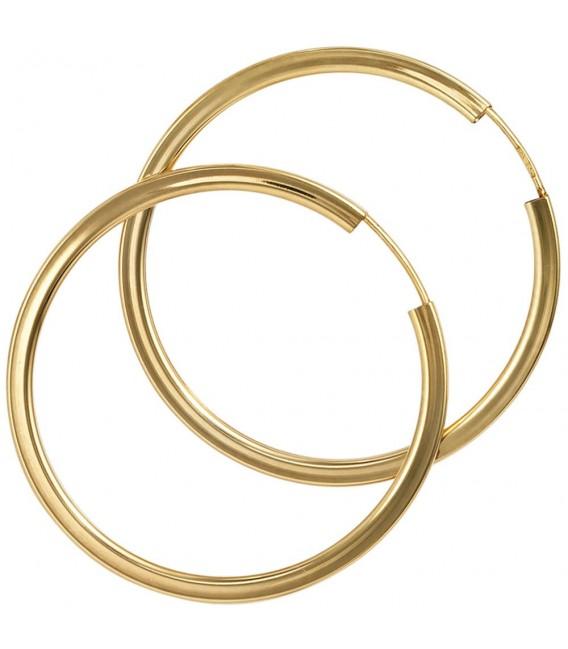 Creolen rund 585 Gold - 4053258044636