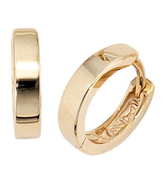Creolen rund 333 Gold - 4053258046456