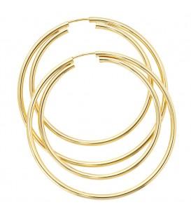 Creolen rund 333 Gold - 4053258046425 Produktbild