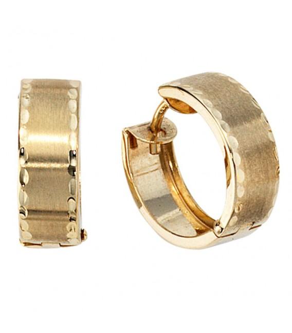 Creolen rund 333 Gold - 4053258046357