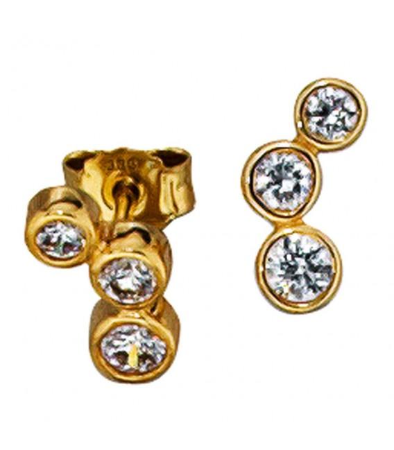Ohrstecker 333 Gold Gelbgold - 4053258047217