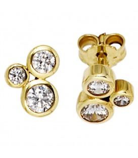 Ohrstecker 333 Gold Gelbgold - 4053258204078