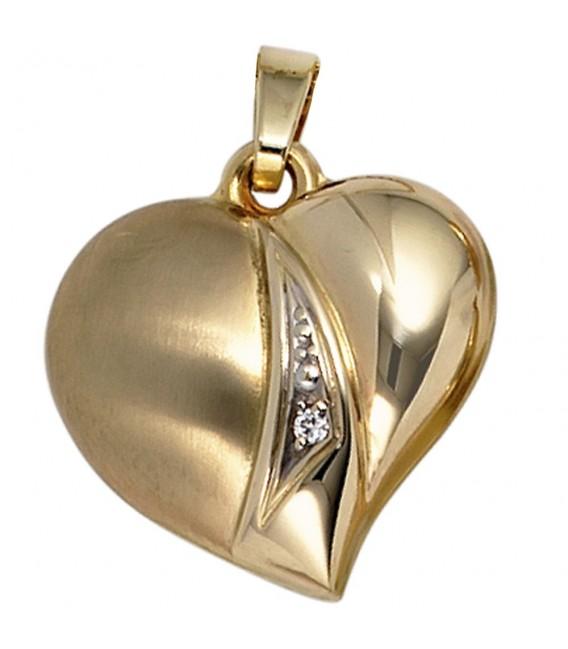 Anhänger Herz 333 Gold - 4053258202968