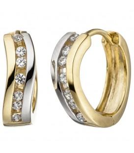 Creolen 333 Gold Gelbgold - 4053258306734