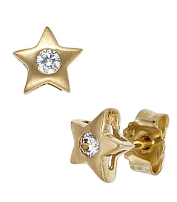 Ohrstecker Stern 333 Gold - 4053258047484