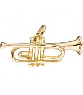 Anhänger Trompete 333 Gold - 4053258046791 Produktbild