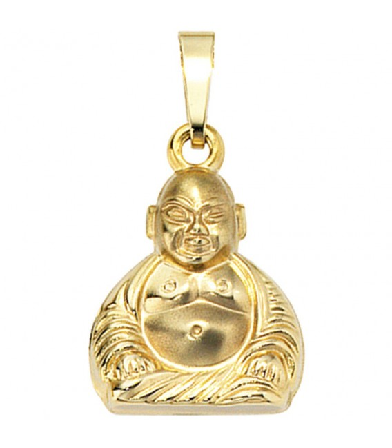 Anhänger Buddha 333 Gold - 4053258046814 Zoom
