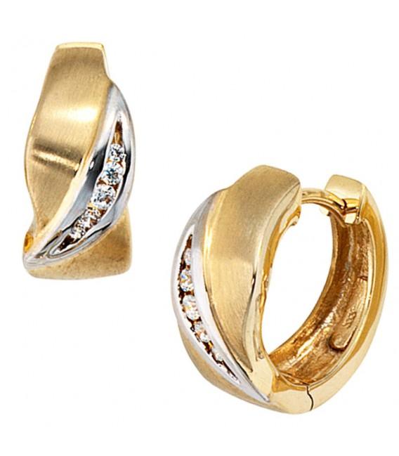 Creolen 333 Gold Gelbgold - 4053258048535