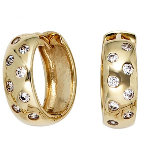 Creolen rund 333 Gold - 4053258203002
