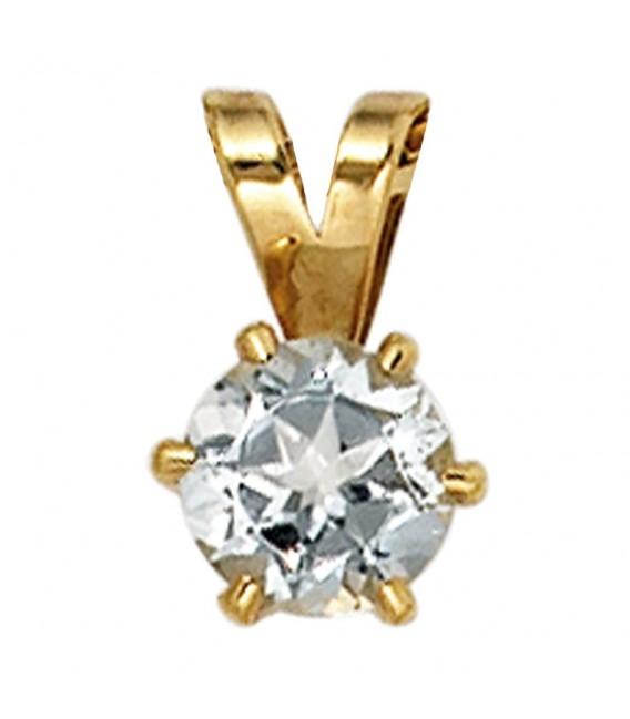 Anhänger 585 Gold Gelbgold - 4053258205310