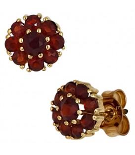 Ohrstecker Blume 375 Gold - 4053258204665