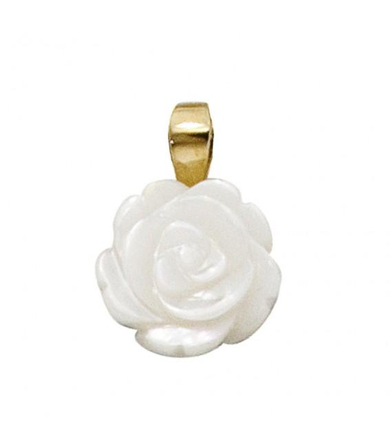 Anhänger Rose 333 Gold - 4053258048986