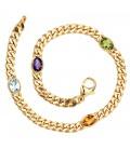 Armband 585 Gold Gelbgold - 28301