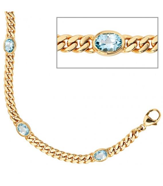 Armband 585 Gold Gelbgold - 4053258052273