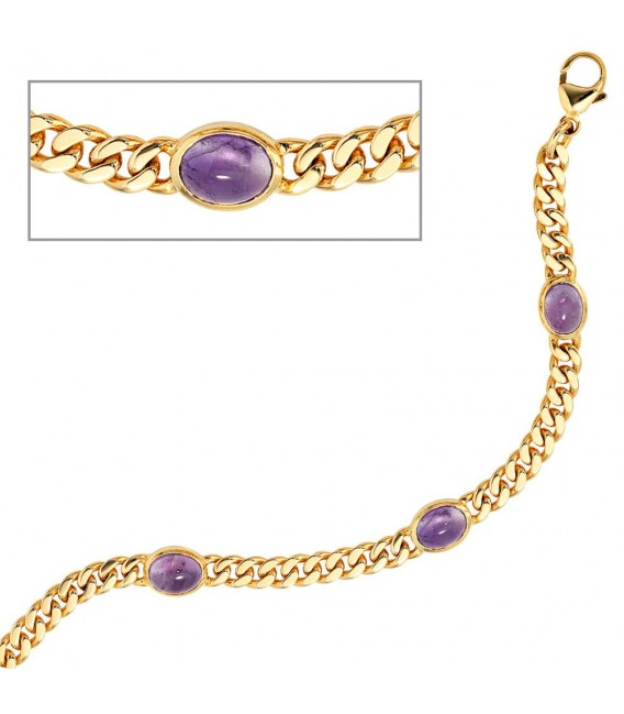 Armband 585 Gold Gelbgold - 4053258052266