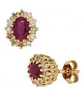 Ohrstecker 585 Gold Gelbgold - 4053258207130