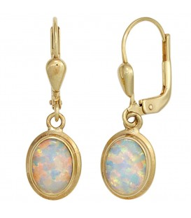 Boutons oval 333 Gold - 4053258253076