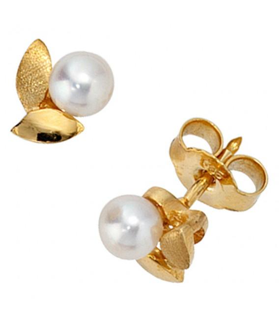 Ohrstecker 585 Gold Gelbgold - 4053258060384