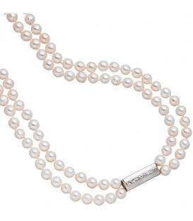 Perlenkette 2-reihig mit Akoya - 4053258321157