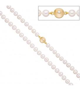 Perlenkette aus Akoya Perlen - 4053258322376