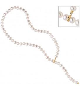 Perlenkette mit Süßwasser Perlen - 4053258319055