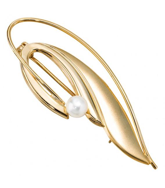 Brosche 585 Gold Gelbgold - 4053258060766