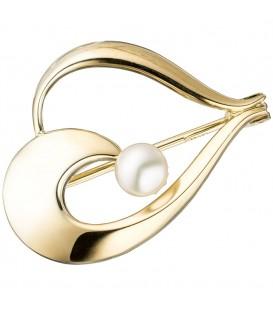 Brosche 585 Gold Gelbgold - 4053258295298