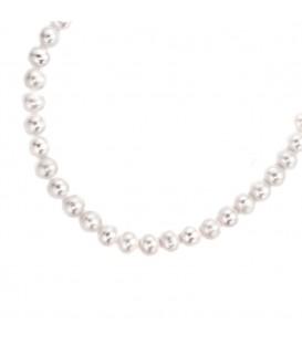 Collier Perlenkette Süßwasser Perlen - 4053258061541