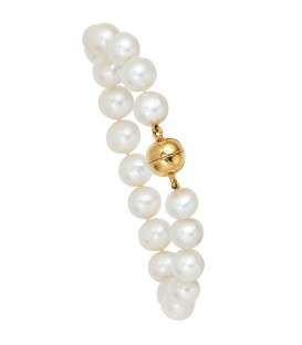 Perlenarmband Süßwasser Perlen 19 - 4053258061565