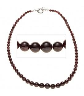 Halskette Edelsteinkette Granat Verlauf - 4053258284339