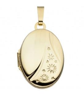 Medaillon oval 585 Gold - 4053258255193