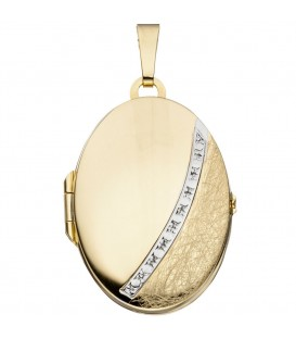 Medaillon oval 333 Gold - 4053258062487