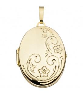 Medaillon oval Blumen 333 - 4053258062494