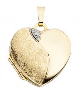 Medaillon Herz 333 Gold - 4053258062517