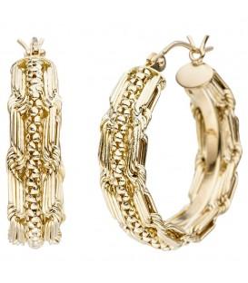 Creolen 375 Gold Gelbgold - 4053258338872