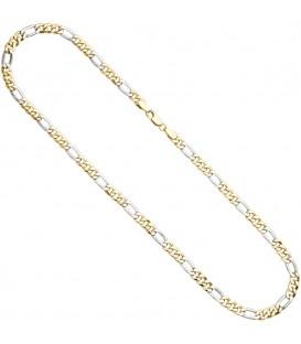 Figarokette 333 Gelbgold Weißgold - 4053258230893