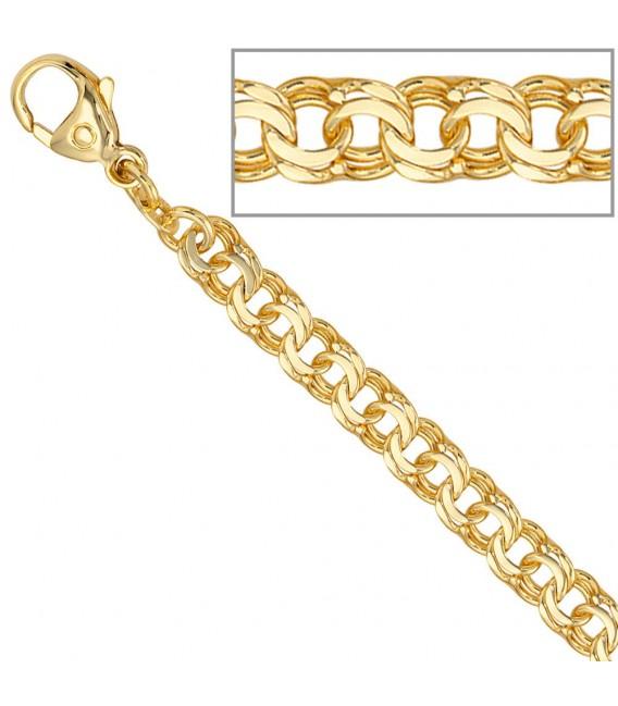 Garibaldikette 585 Gelbgold 5,2 mm 45 cm Gold Kette Halskette Goldkette.