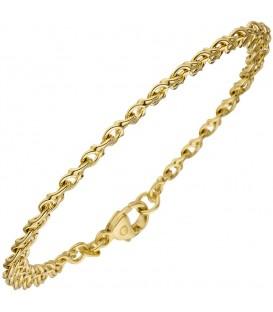 Garibaldiarmband 585 Gold Gelbgold - 4053258063200