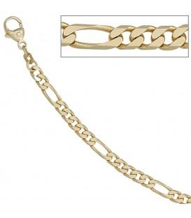 Figaroarmband 585 Gold Gelbgold - 4053258255780 Produktbild