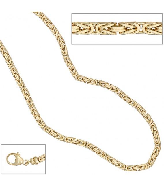 Königskette 585 Gelbgold 32 - 4053258062906